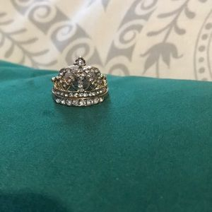 🚨3for$10 👑Crown Gold Tone Ring Set 👑